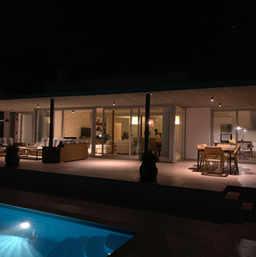 Villa Tramuntana de nuit