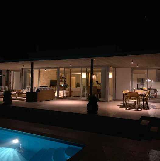 Villa Tramuntana by night