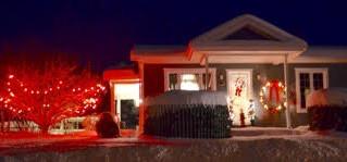 Les décorations de Noël, la tradition continue à SADL