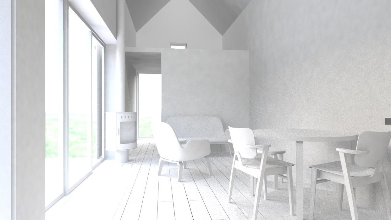 Sisäkuva olohuoneesta