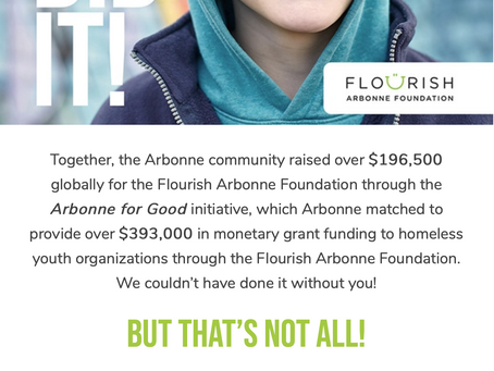 THANK YOU! Help more kids with us.
