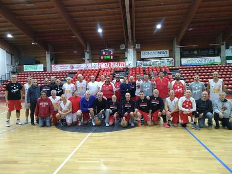 Forgiati vs Maxi Basket, una passione senza età
