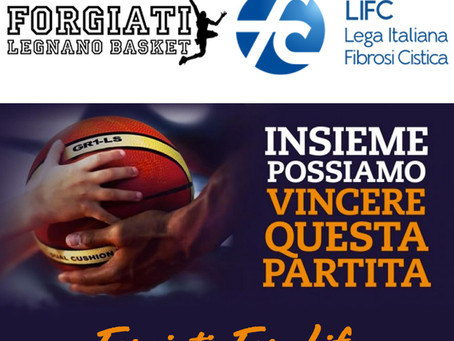 Forgiati: non solo basket, appuntamento con la beneficenza!!!
