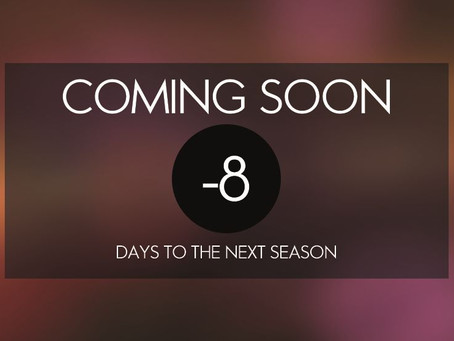 Countdown for the new season