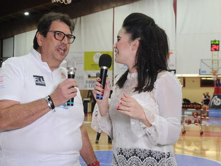 Intervista del nostro Pres durante Legnano-Latina