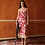 Thumbnail: PRINTED SLIP DRESS WITH FEATHERS