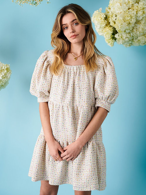 Sweet Tweed Confetti Dress