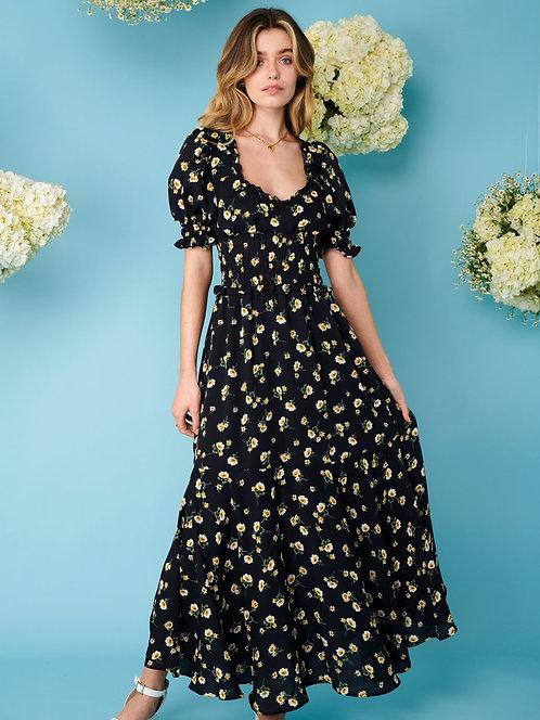 Prairie Bloom Midi Dress