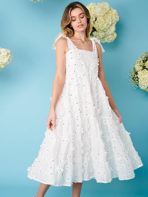 Almond Blossom Midi Dress