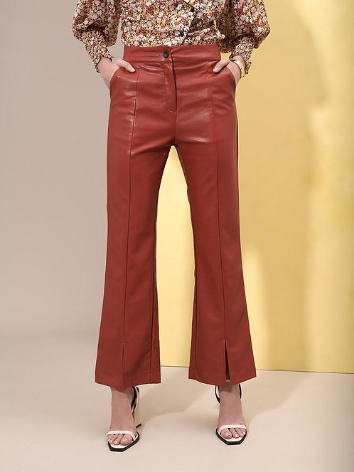 Blaze Faux Leather Trousers