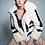 Thumbnail: Sporty faux fur jacket
