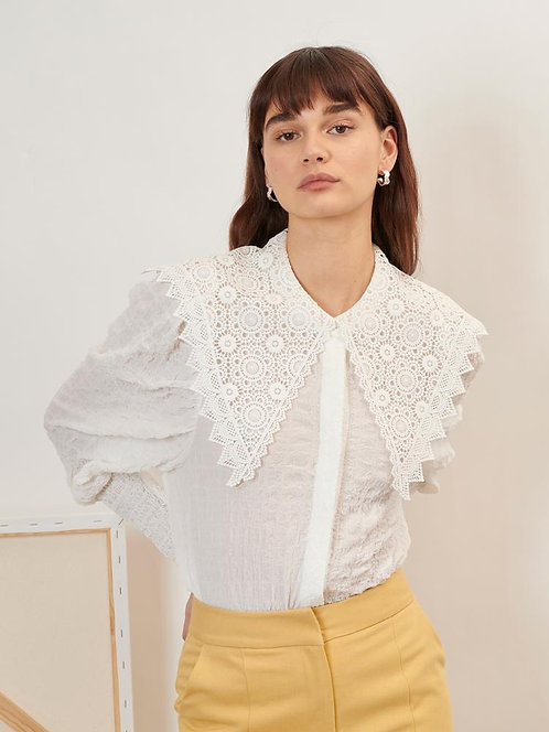 Archive Lace Collar Shirt