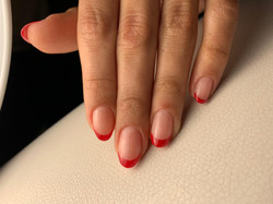 Red French Manicure by Le diX Paris