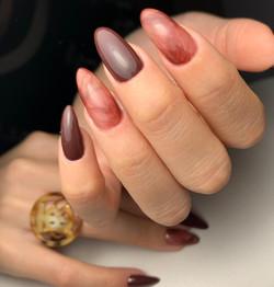 Marble nails by Le diX Paris