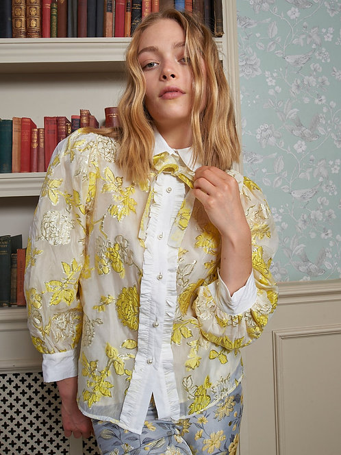 Gloss Floral Blouse