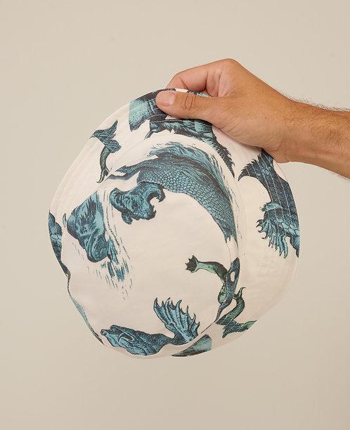 SEA MONSTER BUCKET HAT