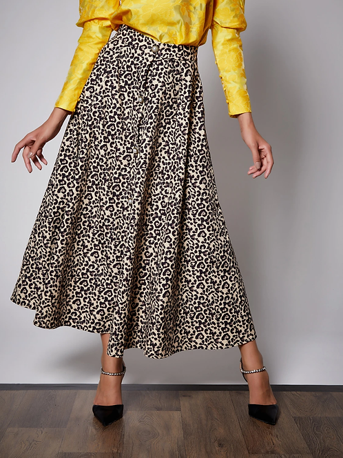 Quickstep Midi Skirt
