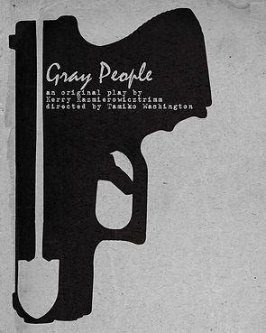 GRAY PEOPLE Key Art by Jake Thompson