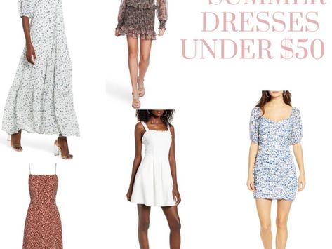 Summer Dress under $50 #NSale