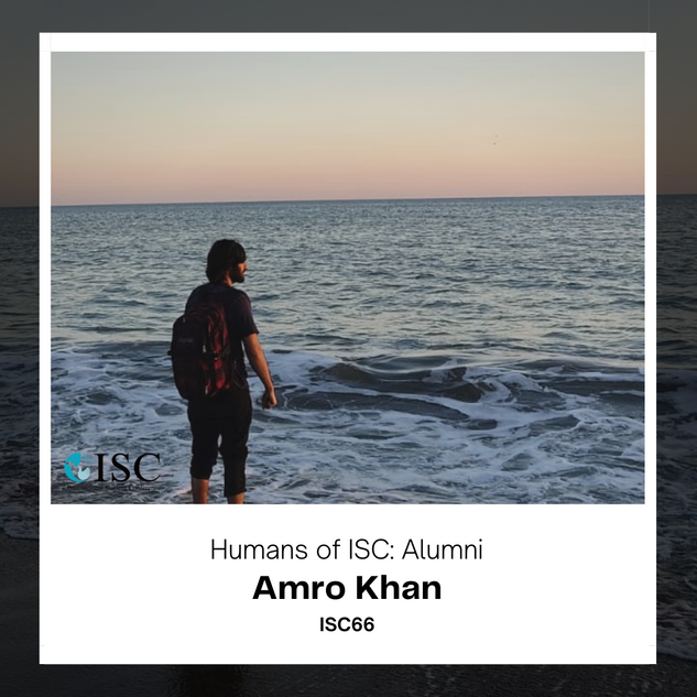 ✨ Interview with our alumnus, Amro! ✨