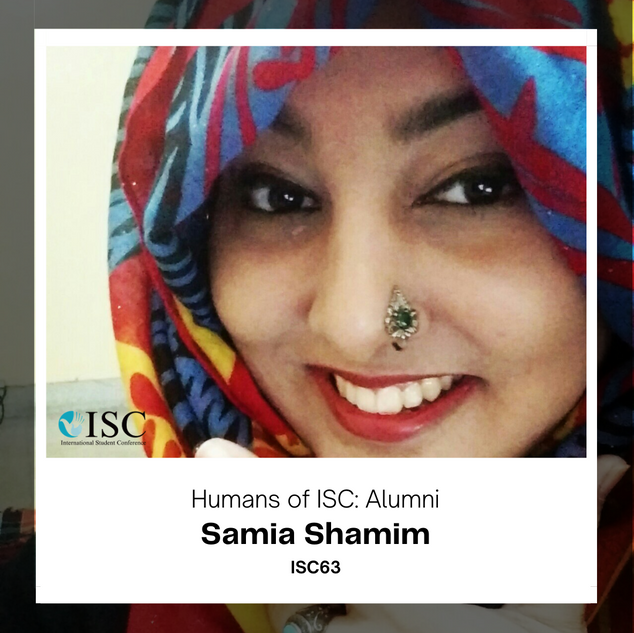 🎇 Interview with our alumna, Samia! 🎇