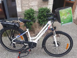 Nouveau : location de vélo à assistance électrique