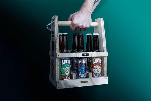 Chelera de Madera + 6 cervezas MOGOS