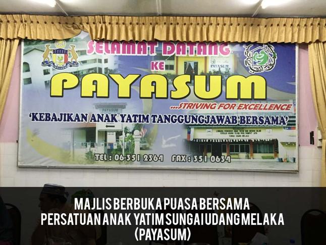 Majlis Berbuka Puasa 2015 di PAYASUM