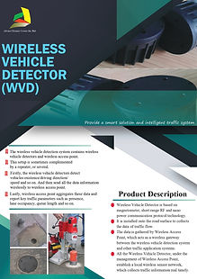 13 Wireless Vehicle Detector (WVD) (FRON