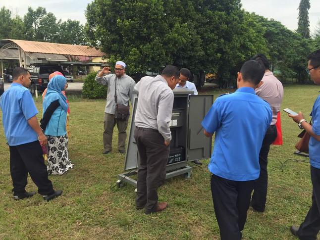 Taklimat Produk Sistem Lampu Isyarat Di JKR Ipoh, Perak.