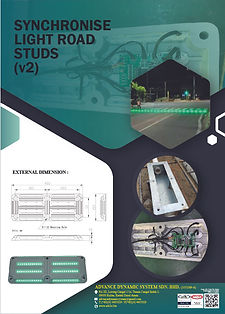 11 Synchronise Light Road Studs(v2) (Bac