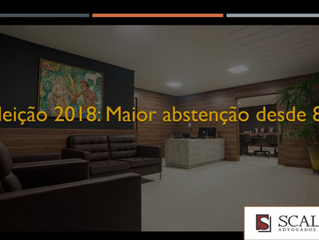 Eleição 2018: Maior abstenção desde 89