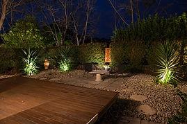 Garden lighting Sunshine Coast Electrician
