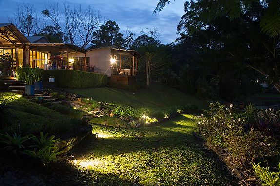 Landscape lighting Sunshine Coast