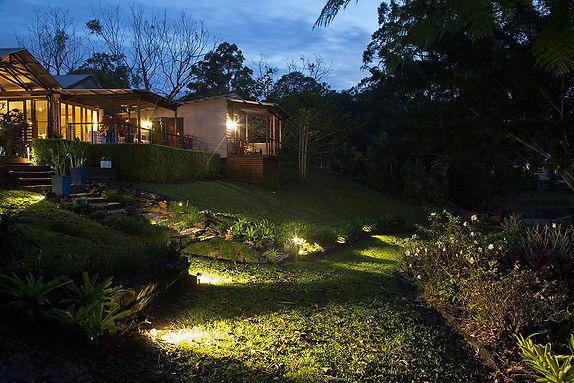 Landscape lighting Sunshine Coast