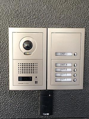 Aiphone intercom system sunshine coast installer