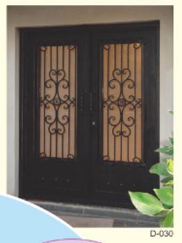 D-030 (Wrought iron Entrance door) Standard door