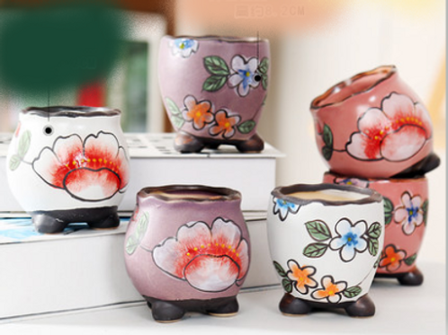 Mini Plantation pots set