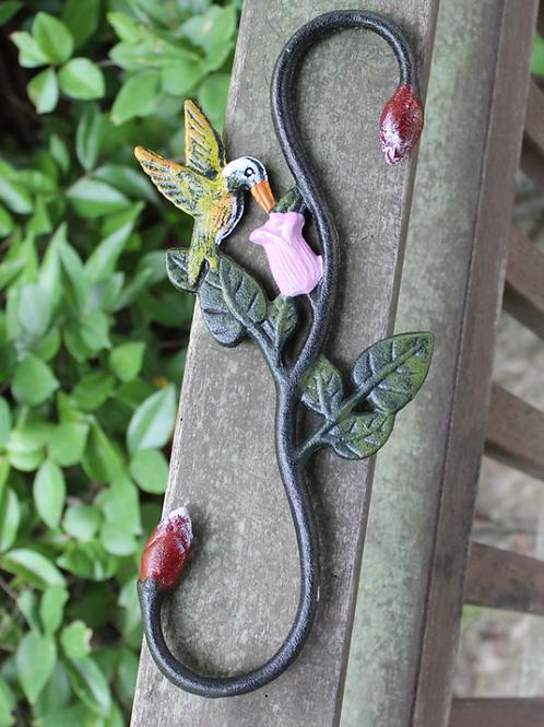 Planter hook (Hummingbird Design)