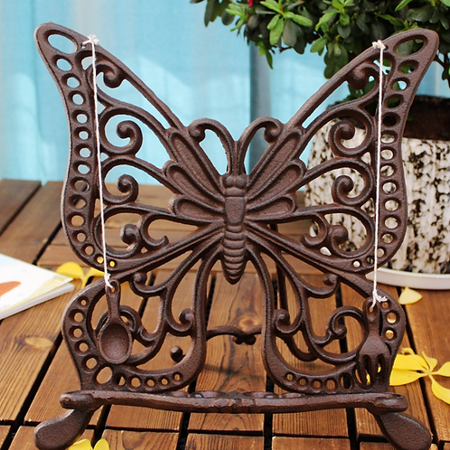 Magazine stand (butterfly design)