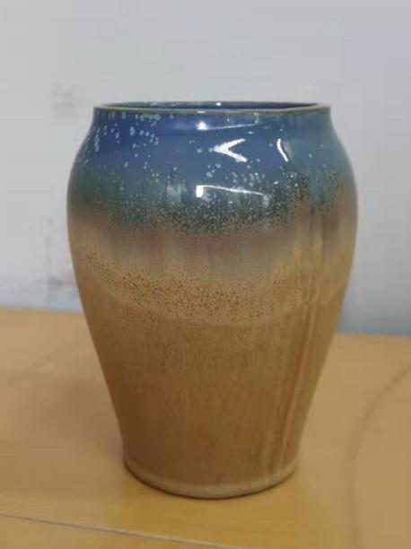 Timber / porcelain Mini vase