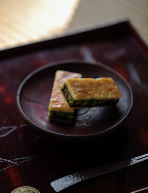日本茶菓SNAOHA キャラメルサンドクッキー 胡桃抹茶