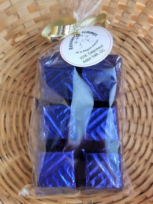 Chocolats artisanaux 6 morceaux