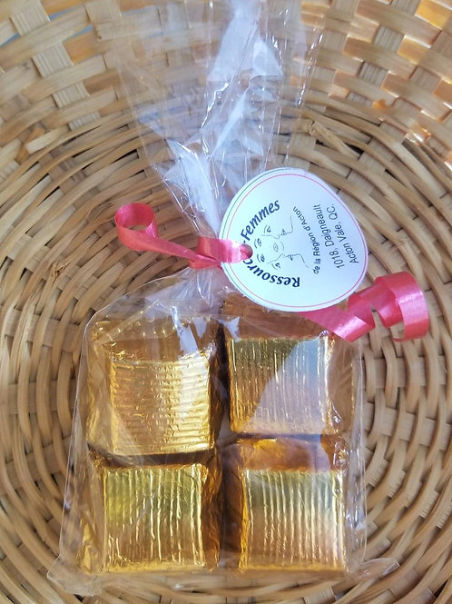 Chocolats artisanaux 4 morceaux
