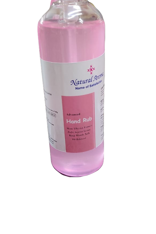 Natural Aroma Alcohol Based Sanitizer 500ML, Rs.150/Piece, MOQ 100 Pieces
