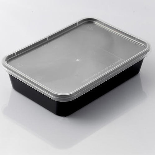 Krishna | Food Container | Pack of 500 | Rectangle Container