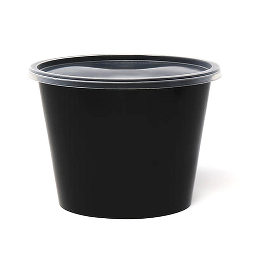 Krishna | 1500ML Food Container | Pack of 300 | Round Container