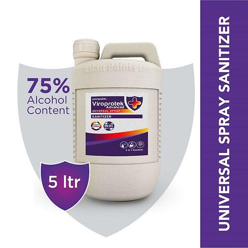 AsianPaints ViroProtek Advance Sanitizer 5 Litre, Rs.900/Piece, MOQ 4 Piece