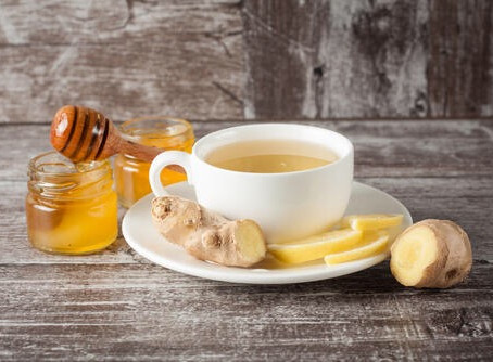 ショウガ紅茶の力☕️