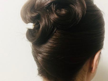 和髪ヘアセット